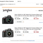 Create Price Alerts on Junglee
