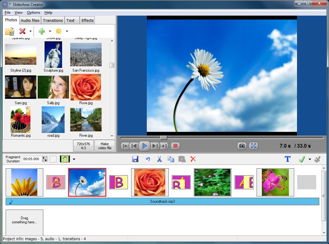 best program to make photo slideshow with music on mac