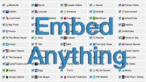 Embed Anything In Your website