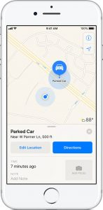 How To Format And Find Your Parked Car Using Maps On Your iPhone