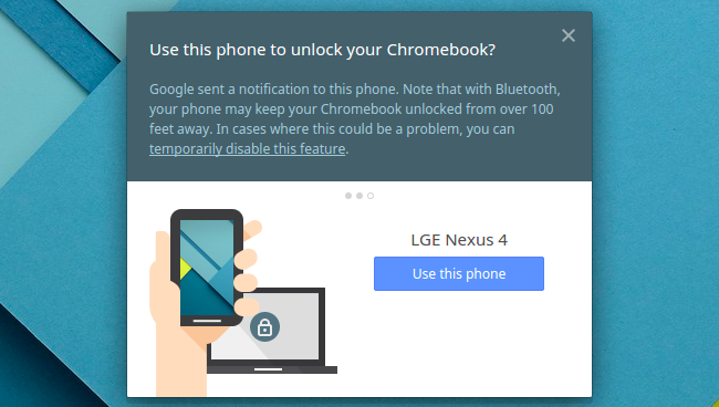 How To Unlock A Chromebook With An Android Smartphone