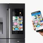 smart fridge to home