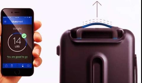 Smart gadget - smart suitcase
