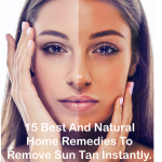 15 Best And Natural Home Remedi​es to Remove Sun Tan Instantly.