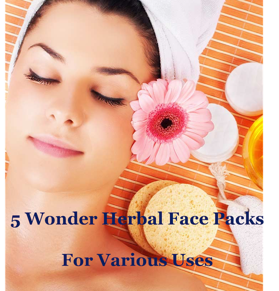 Best 5 herbal face packs